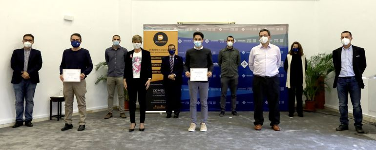 Representantes de COEIIB, COETIIB, Asbaprin, DonDominio, EPS UIB